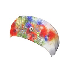 Flowers Bouquet Art Nature Yoga Headband