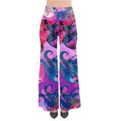 Background Art Abstract Watercolor Pants by Nexatart