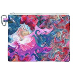 Background Art Abstract Watercolor Canvas Cosmetic Bag (xxl) by Nexatart