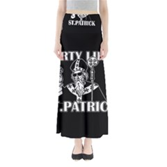 St  Patricks Day  Full Length Maxi Skirt