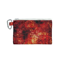 Background Art Abstract Watercolor Canvas Cosmetic Bag (small)