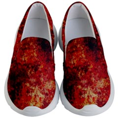 Background Art Abstract Watercolor Kid s Lightweight Slip Ons by Nexatart