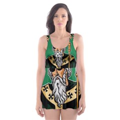 St  Patricks Day  Skater Dress Swimsuit