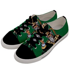St  Patricks Day  Men s Low Top Canvas Sneakers by Valentinaart