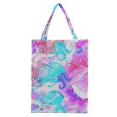 Background Art Abstract Watercolor Pattern Classic Tote Bag by Nexatart