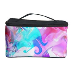 Background Art Abstract Watercolor Pattern Cosmetic Storage Case by Nexatart
