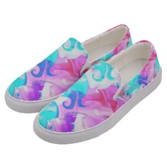 Background Art Abstract Watercolor Pattern Men s Canvas Slip Ons by Nexatart
