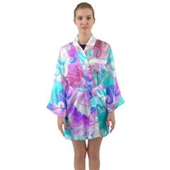 Background Art Abstract Watercolor Pattern Long Sleeve Kimono Robe by Nexatart