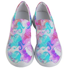 Background Art Abstract Watercolor Pattern Women s Lightweight Slip Ons by Nexatart