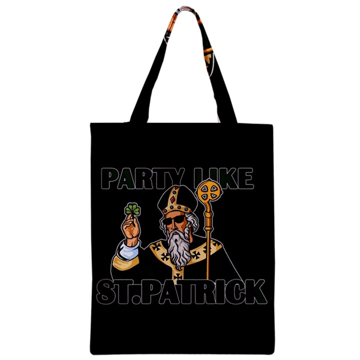 St. Patricks day  Zipper Classic Tote Bag