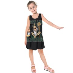St  Patricks Day  Kids  Sleeveless Dress by Valentinaart