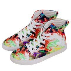 Background Art Abstract Watercolor Women s Hi Top Skate Sneakers by Nexatart