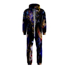 Mask Carnaval Woman Art Abstract Hooded Jumpsuit (kids)