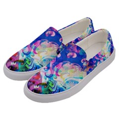 Background Art Abstract Watercolor Men s Canvas Slip Ons by Nexatart