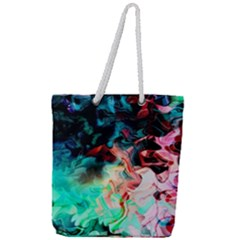 Background Art Abstract Watercolor Full Print Rope Handle Tote (large) by Nexatart
