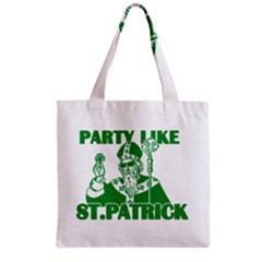 St  Patricks Day  Grocery Tote Bag