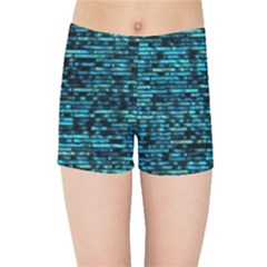 Wall Metal Steel Reflexions Kids Sports Shorts