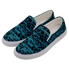Wall Metal Steel Reflexions Men s Canvas Slip Ons by Nexatart