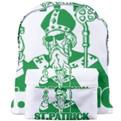 St  Patricks Day  Giant Full Print Backpack by Valentinaart