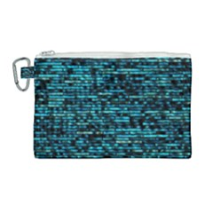 Wall Metal Steel Reflexions Canvas Cosmetic Bag (large) by Nexatart