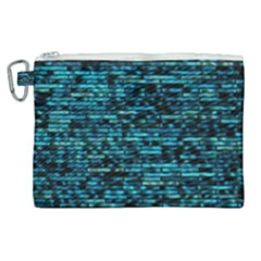 Wall Metal Steel Reflexions Canvas Cosmetic Bag (xl) by Nexatart
