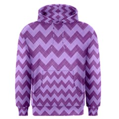 Background Fabric Violet Men s Pullover Hoodie