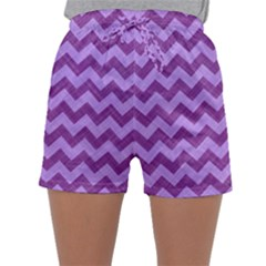Background Fabric Violet Sleepwear Shorts