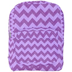 Background Fabric Violet Full Print Backpack
