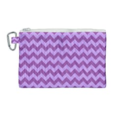 Background Fabric Violet Canvas Cosmetic Bag (large) by Nexatart