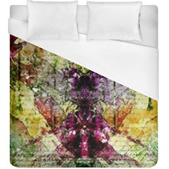 Background Art Abstract Watercolor Duvet Cover (king Size)