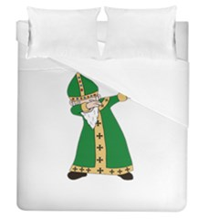 St  Patrick  Dabbing Duvet Cover (queen Size)