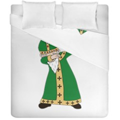St  Patrick  Dabbing Duvet Cover Double Side (california King Size)