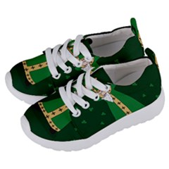 St  Patrick  Dabbing Kids  Lightweight Sports Shoes by Valentinaart