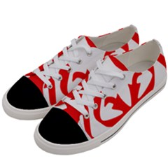 Malaysia Unmo Logo Women s Low Top Canvas Sneakers by abbeyz71