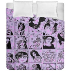 Lilac Yearbook 2 Duvet Cover Double Side (california King Size) by snowwhitegirl