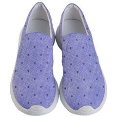 Dot Blue Women s Lightweight Slip Ons