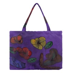 Flowers Medium Tote Bag