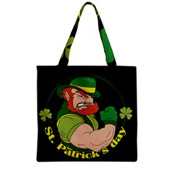 St  Patricks Day Grocery Tote Bag by Valentinaart