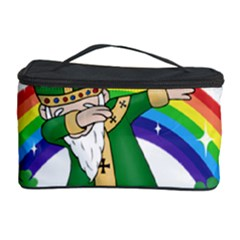 St  Patrick  Dabbing Cosmetic Storage Case by Valentinaart
