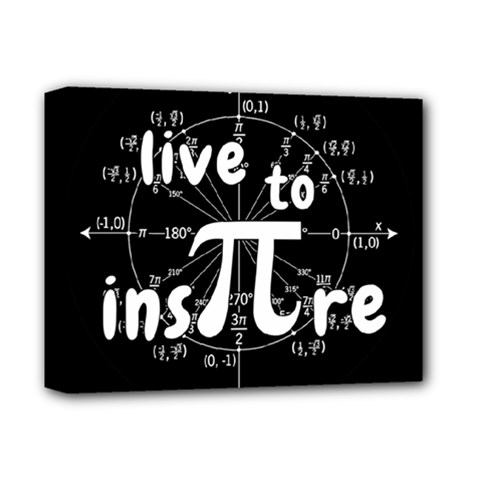 Pi Day Deluxe Canvas 14  X 11  by Valentinaart