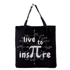 Pi Day Grocery Tote Bag by Valentinaart