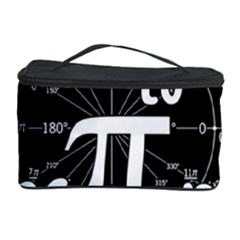 Pi Day Cosmetic Storage Case by Valentinaart