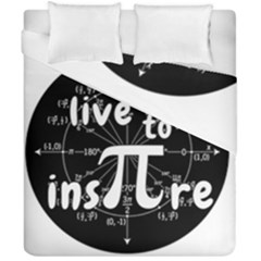 Pi Day Duvet Cover Double Side (california King Size) by Valentinaart