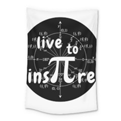 Pi Day Small Tapestry