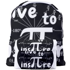 Pi Day Giant Full Print Backpack by Valentinaart