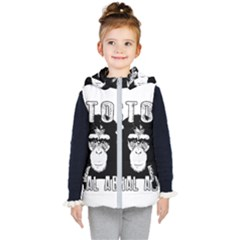 Stop Animal Abuse - Chimpanzee  Kid s Puffer Vest