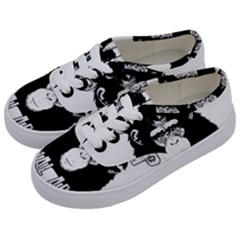Stop Animal Abuse - Chimpanzee  Kids  Classic Low Top Sneakers