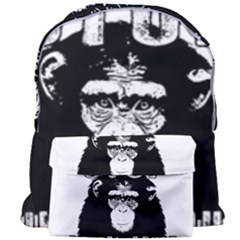 Stop Animal Abuse - Chimpanzee  Giant Full Print Backpack