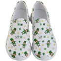 St Patricks day pattern Men s Lightweight Slip Ons View1
