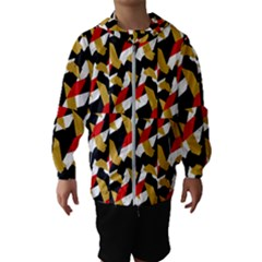 Colorful Abstract Pattern Hooded Wind Breaker (kids) by dflcprints